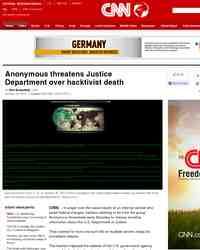 Hacker group Anonymous takes over US government website: Breaking News